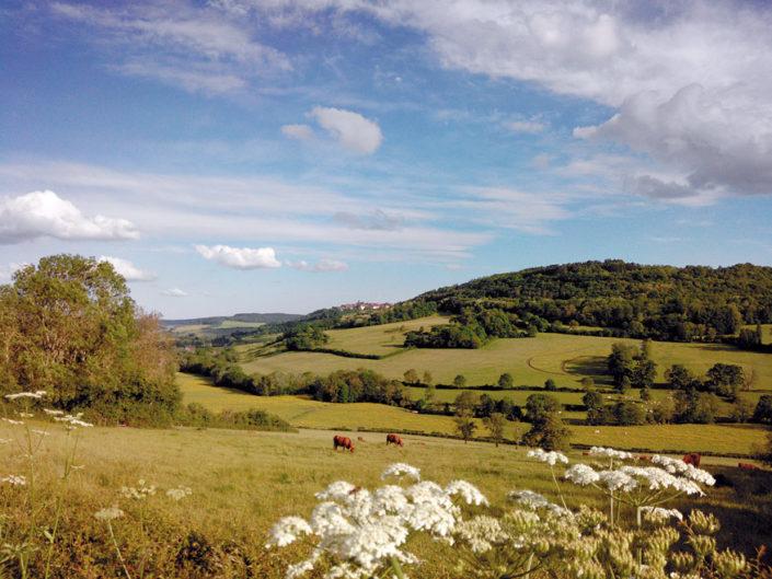 Village des bonbons de Flavigny, en Bourgogne, en France